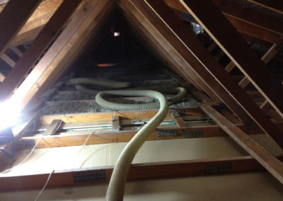 Roof Vacuuming