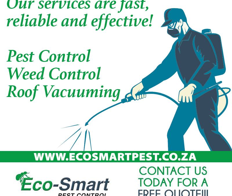 Quality Pest Control, Weed Control, and Roof Vacuuming
